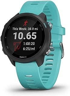 Garmin Forerunner 245 Music Rubber Smart Watch (Blue)