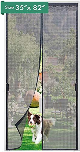 Magnetic Screen Door, AIFFERA Door Screen Fiberglass Self Sealing,...