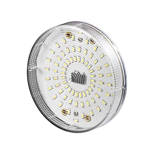 Goobay 30597 LED Einbaustrahler, 4, 5 W - Sockel GX53, ersetzt 32 W, warm-weiß, nicht dimmbar