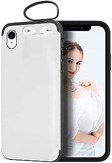 XCYYOO Coque Étui 2 en 1 pour iPhone XR et Airpods 2/1 Casque- Housse de téléphone Portable Hybride Robuste 2 en 1 Anticho...