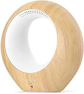 AirSense Smart Monitor de Calidad de Aire & Purificador de Ion, altavoces bidireccionales, millones de colores de luz, VOC...