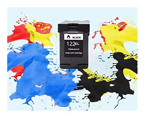 TZZD 122XL - Cartucho de repuesto para impresora HP 122 XL para Deskjet 1510 2050 1000 1050 1050A 2000 2050A 2540 3000 3050 3052A (color: 1 negro)