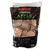 Smoking Wood Chunks (Apple) 420 cu. in. (0.006m³)- Kiln Dried BBQ Large Cut Chips- All Natural Barbecue Smoker Chunks- 5 Pound Bag (May Receive in a Bag or Box)