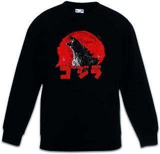 Urban Backwoods Monster Vintage Logo Sudadera Suéter para Niños Niñas Pullover Schwarz