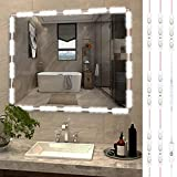 Led Vanity Mirror Lights, Hollywood Style 10ft 60 LED Ultra Bright Vanity Make Up Mirror Light, Vanity Lights for Mirror with Dimmable Touch Control for Makeup Vanity Table & Bathroom Mirror