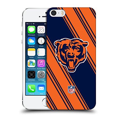 Head Case Designs Licenza Ufficiale NFL Righe Chicago Bears Artwork Cover Dura per Parte Posteriore Compatibile con Apple iPhone 5 / iPhone 5s / iPhone SE 2016
