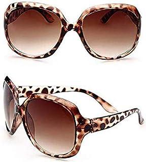 GK Lunettes de soleil vintage pour dames surdimensionn/ées cadre rond Designer r/étro Shades Designer