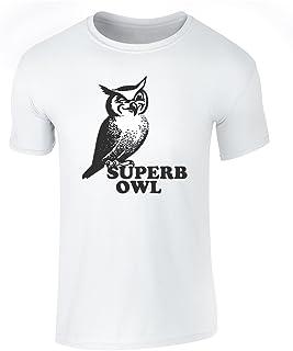 Superb Owl Funny Football Short Sleeve T-Shirt