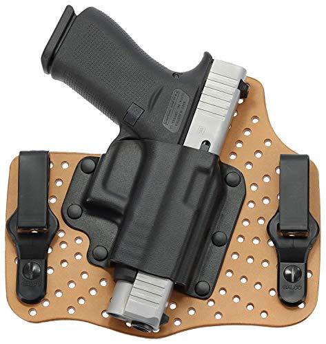 GALCO - KingTuk Air IWB Holster for Glock 43, 43x, 48, and Springfield Hellcat, Right Hand (Natural) (KA800)