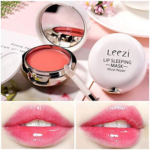 Masque pour les lèvres Traitement de nuit de longue durée, Baume hydratant réparateur pour l'hydratation des lèvres
