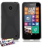 MUZZANO F430497 - Funda para Nokia Lumia 630/635, Color Gris