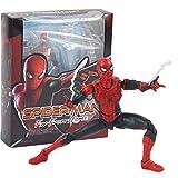 zdfgv Figura de acción de Spiderman Spider-Man lejos de casa Modelo de Juguete Regalos de cumpleaños 14 cm