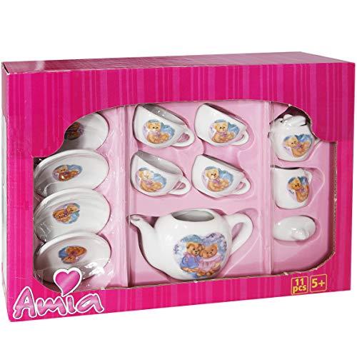 Amia Tee-Service aus Porzellan 11-teilig