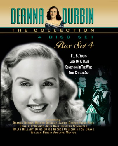 Deanna Durbin Box Set 4 [DVD] - I ll Be Yours, Lady On A Train, Something In the Wind and That Certain Age [Reino Unido]