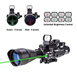 Best Pinty Rifle Scopes - Pinty Rifle Scope 4-12x50 Rangefinder Illuminated Optics Review