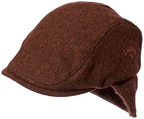 [キャロウェイ] [メンズ] ハンチング (ヘリンボーン・スベリ:吸汗速乾性) / 241-0291519 / 帽子 ゴルフ 050_ブラウン 日本 FR (FREE サイズ)