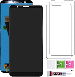 Huawei Mate SE Screen Replacement, LCD Display & Touch Screen Digitizer with HD Glass Screen Protector, Compatible with Honor 7X/Mate SE BND-TL10/AL10/L21/L22/L24, with Repair Tool kit