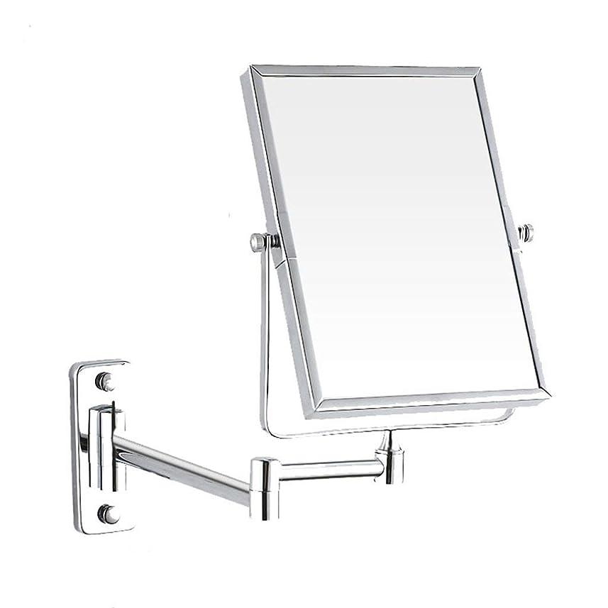 引き付ける空気モルヒネ辉子化粧鏡 バスルームの鏡3倍倍率両面デザイン壁の化粧鏡/化粧鏡/バニティミラー/プリンセスミラー/ビューティーミラー