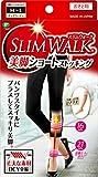 「スリムウォーク SLIM WALK 美脚ショートストッキング M~Lサイズ ピュアベージュ 着圧 ストッキング」の画像