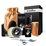 Beard Care Grooming Kit for Men – Includes Conditioner Oil, Beard Balm Butter