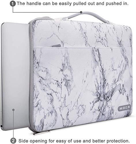 MOCA Waterproof Nylon Exterior with Soft Velvety Interior Laptop Sleeve