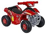 FEBER - Quad électrique CARS pour enfants de 18 mois à 3 ans, 6V, Rouge (Famosa 800011149)
