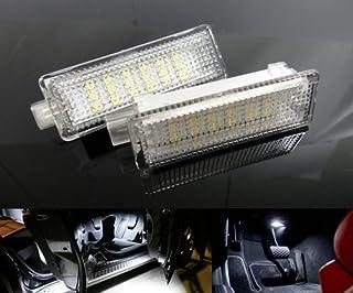 JXSMYBTB Davanzale della Porta con Illuminazione a LED./per BMW Serie 1 2010-2019 F20 M Performance Door Step Car Welcome Pedal Threshold Car refitting