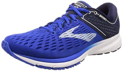 Brooks Men's Ravenna 9 (8 D US) Blue/Navy/White