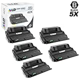LD Compatible Toner Cartridge Replacement for HP 42X Q5942X High Yield (Black, 5-Pack)