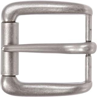 "1 1/2"" (38 mm) Rectangular Single Prong Square Roller Belt Buckle"