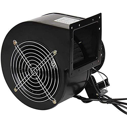 Ventilador centrífugo de frecuencia industrial de potencia silenciosa / ventilador comercial, para ventilación por conductos, extracción de humo, ventilador de engranaje de hierro de forja manual