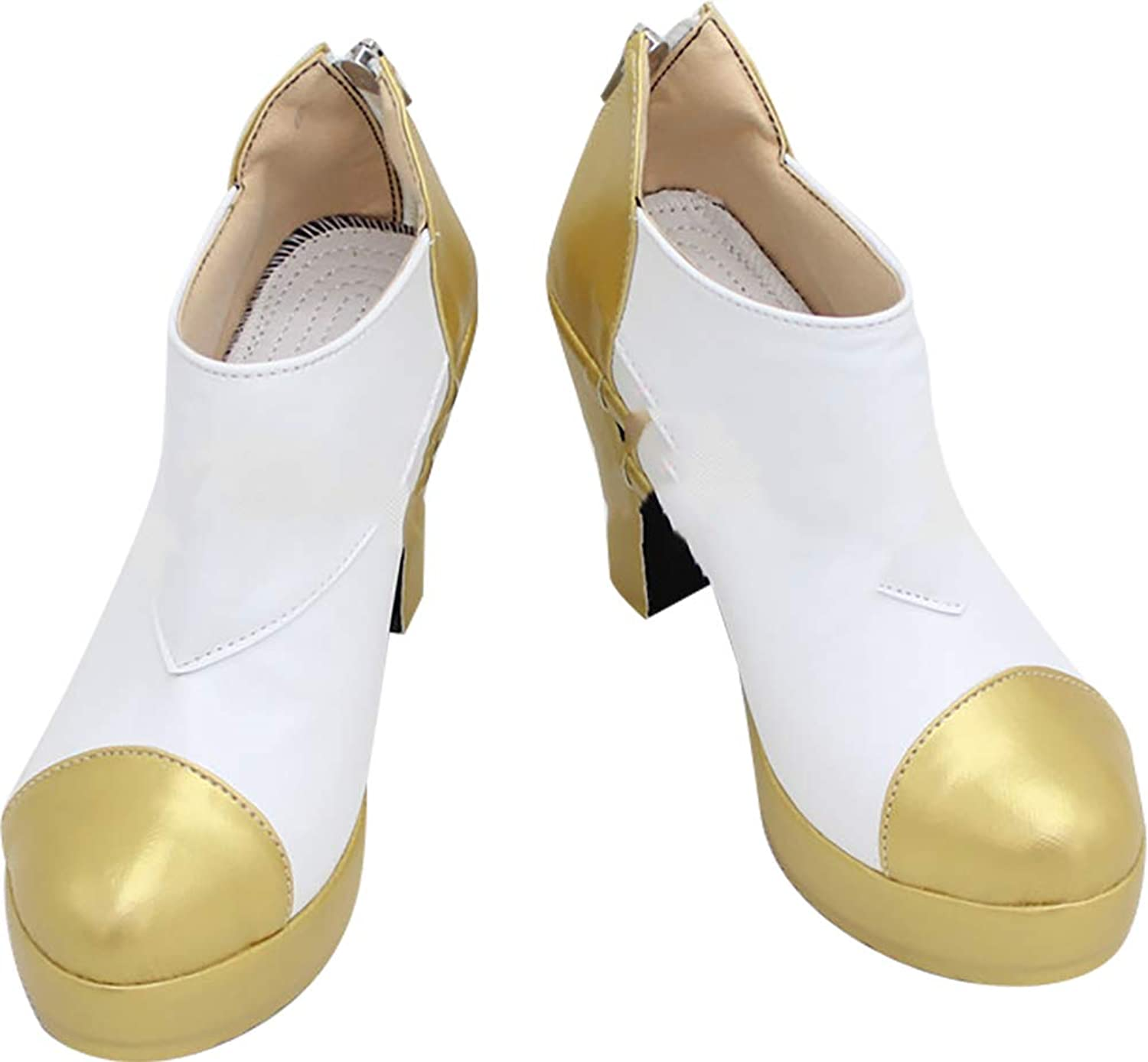 Whirl Cosplay Boots shoes for League of Legends Ahri gold