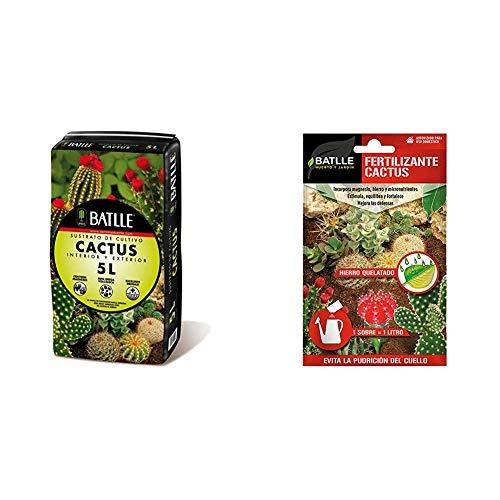 Sustratos - Sustrato Cactus 5l. - Batlle + Abonos - Fertilizante Cactus...