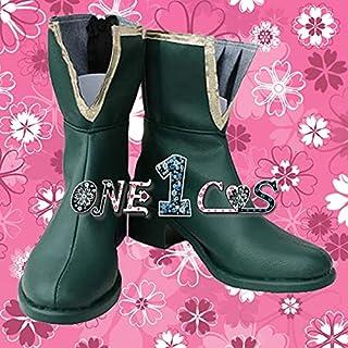 【サイズ選択可】コスプレ靴 ブーツ 12L1749 魔法少女まどか☆マギカ 美樹さやか 女性24CM