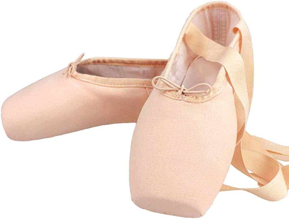 MSMAX Satin Ballet Pointe Shoes Flats Our shop OFFers the Atlanta Mall best service Professional Dance