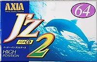 AXIA カセットテープ J'z 64分 ハイポジ JZ2F 64