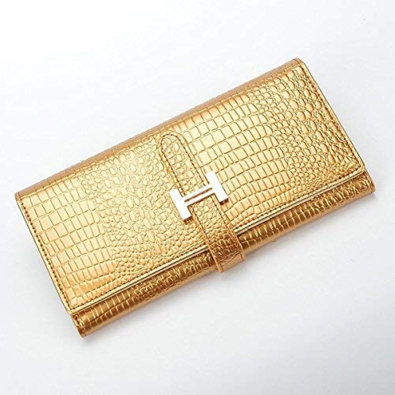 Evening Bag Portemonnee Vrouwelijke Slim Purse Voor Vrouwen Lange En Korte Dames Handy Portemonnees En Handtas Vrouwen Portefeuilles En Portemonnees Party Handbag (color   gold Long)