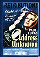 Address Unknown [DVD]