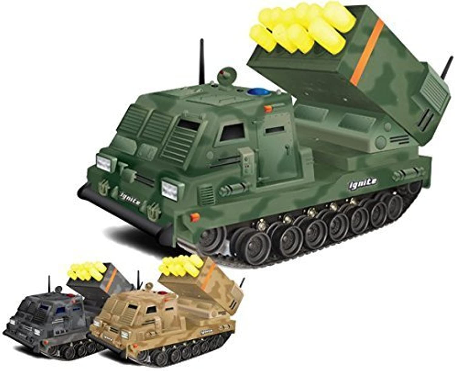 Ignite The Jackal Mobile Missile Launcher Full Function Remote Control Vehicle by Bear River International