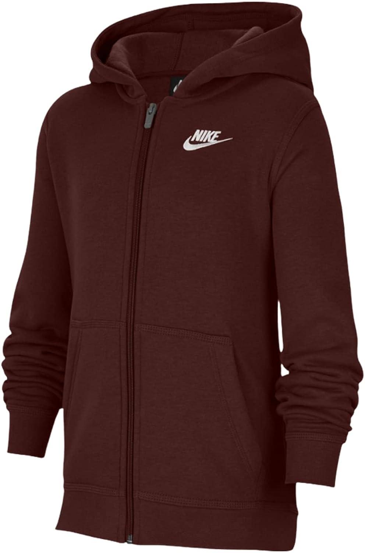Nike Boys NSW Club Gifts Dallas Mall Hoodie Zip Full