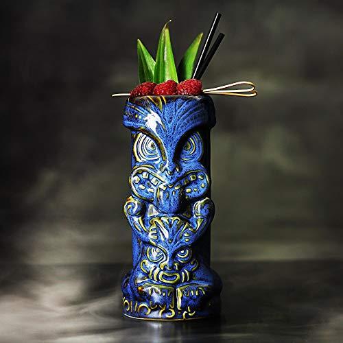 Duece Tiki Tasses 450/450ml–Cocktail Hawaïen En Céramique Tasse
