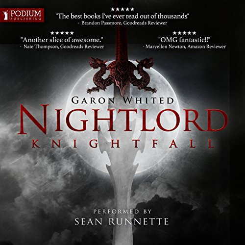 Knightfall audiobook cover art