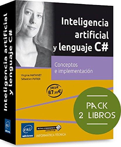 Pack De 2 Libros: Conceptos E Implementación. Inteligencia Artificial Y Lenguaje C#