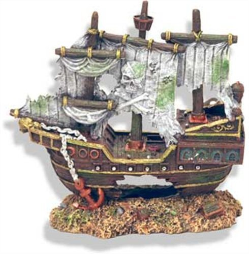Best Sunken Ship Aquarium Decorations Shipwreck Theme