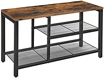 Vasagle Industrial Design Shoe Bench with Seat