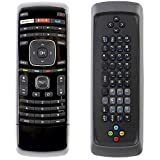 Universal XRT300 Remote Control with QWERTY Keyboard fit for Vizio LCD LED Smart TV M420SV M470SV M550SV M470SL M550SL M420SL M470SL M550SL M650VSE M470VSE M550VSE E551VA M320SR M420SR M370SR E3D320VX
