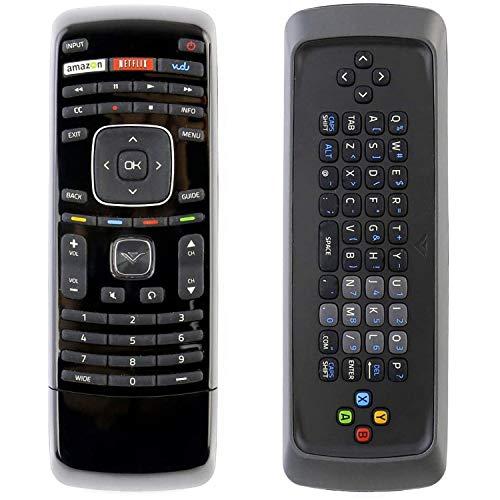 Universal XRT300 Remote Control with QWERTY Keyboard fit for Vizio LCD LED Smart TV M420SV M470SV M550SV M470SL M550SL M420SL M470SL M550SL M650VSE M470VSE M550VSE E551VA M320SR M420SR M370SR E3D320VX