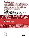 Excelentísimo Sr. D. José Echegaray y Eizaguirre