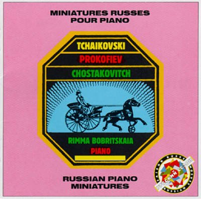 Russian Miniatures for Piano