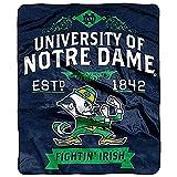 Notre Dame Fighting Irish 'Label' Raschel Throw Blanket, 50' x 60'